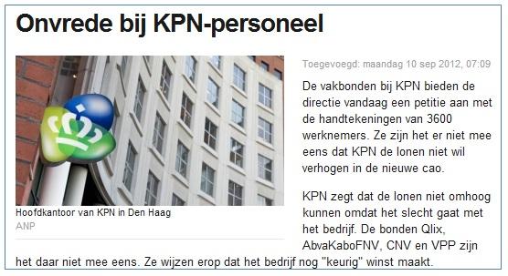 nieuwsbericht aandelen kopen KPN logo