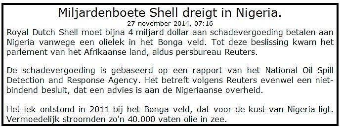Succesvol beleggen in Shell