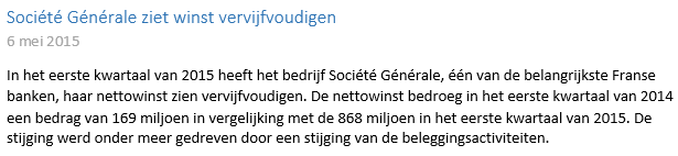 Starten met beleggen in Société Générale Nieuwsbericht